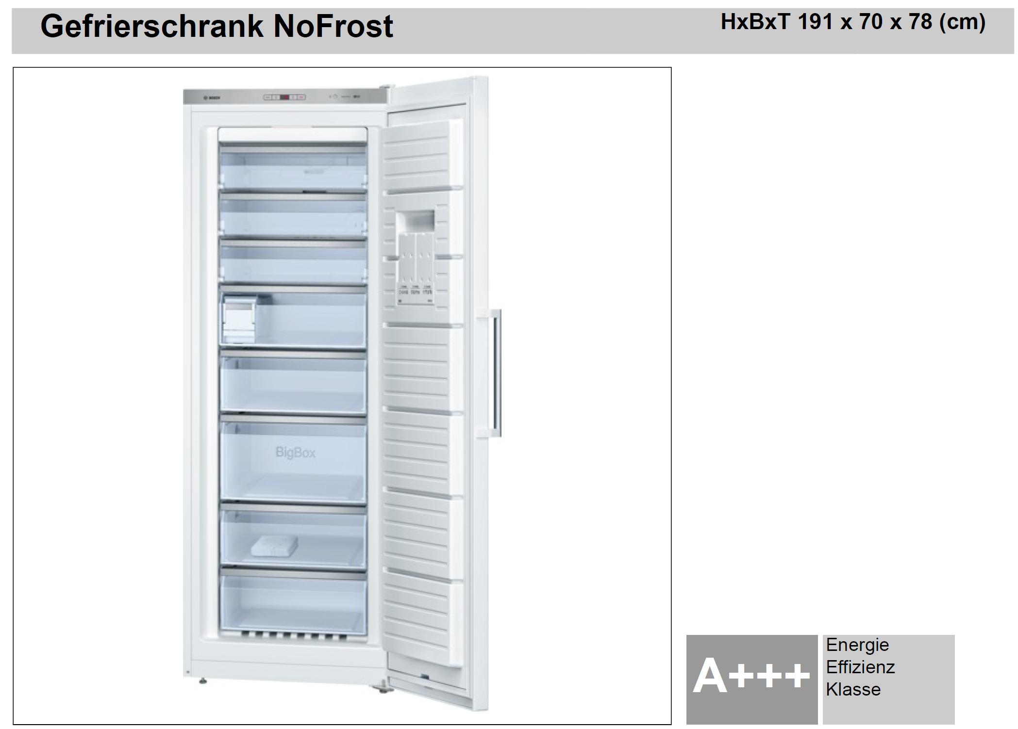 bosch gefrierschrank nofrost plan work elektrotechnik gmbh. Black Bedroom Furniture Sets. Home Design Ideas